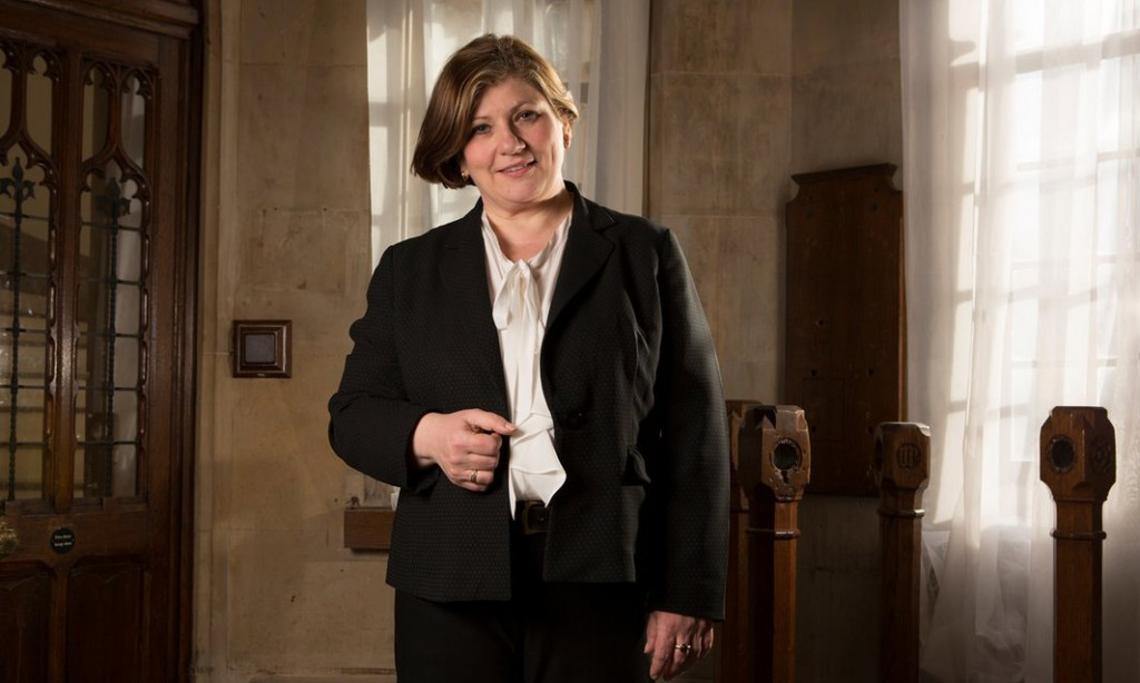 Emily Thornberry. Photograph: Richard Saker for the Observer